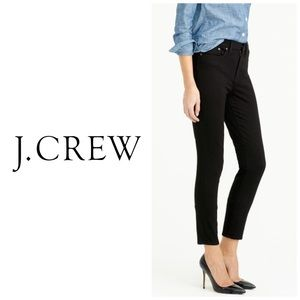 J Crew Lookout High Rise Skinny Black Jeans 👖